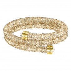 CRYSTALDUST BANGLE DOUBLE, GOLDEN CRYSTAL